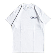 DAVE'S NEW YORK / LOGO TEE (WHITE) - XXL