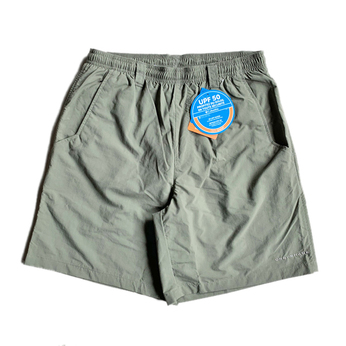 COLUMBIA PFG / NYLON SHORTS (OLIVE)