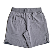 RUSSELL ATHLETIC / WOVEN TECH SHORTS (HEATHER GREY)