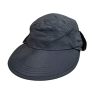 geek / Nylon Sun Hat (BLACK)