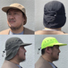 geek / Nylon Sun Hat (KHAKI)