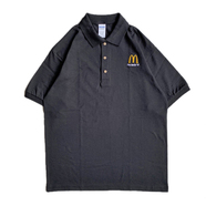 McDonald's / I'M LOVIN' IT POLO SHIRT (BLACK)
