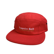 ACAPULCO GOLD / CHIEF CAMP HAT (RED)