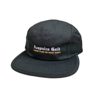 ACAPULCO GOLD / CHIEF CAMP HAT (BLACK)