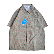 COLUMBIA PFG / COTTON PRINT SHIRT (BROWN)