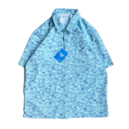 COLUMBIA PFG / COTTON PRINT SHIRT (LIGHT BLUE)