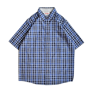 WRANGLER / CHECK SHIRT (NAVY)