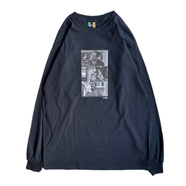 BEDLAM / FRIDAY LS TEE (BLACK)