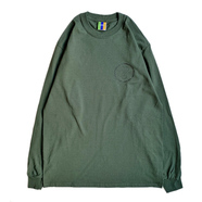 BEDLAM / RAVI LS TEE (FOREST GREEN)