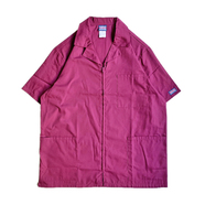 CHEROKEE WORKWEAR / DOCTOR ZIP COAT (WINE)