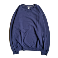 FRUIT OF THE LOOM / 7.2oz SOFSPUN CREW NECK (NAVY)