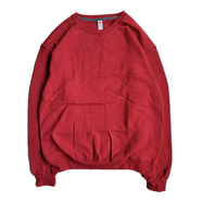 FRUIT OF THE LOOM / 7.2oz SOFSPUN CREW NECK (CARDINAL)