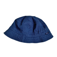 NEW HATTAN / REVERSIBLE BUCKET HAT (NAVY)