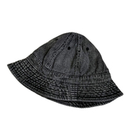 NEW HATTAN / DENIM BALL HAT (BLACK)