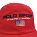 POLO SPORT / LOGO COTTON CHINO CAP (RED)