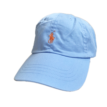 POLO RALPH LAUREN / COTTON CHINO CAP (LIGHT BLUE)