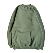 BAYSIDE / Heavyweight Crew Neck (OLIVE)