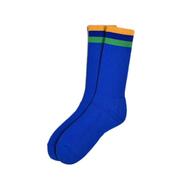 BEDLAM / FLAG SOCKS (BLUE)