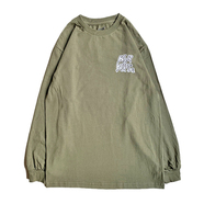 KR USA / WILD KR MAN LS TEE (MILITARY GREEN)