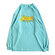 KR USA / THROW-UP LS TEE (MINT)