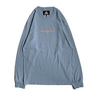 NOTHIN' SPECIAL / F/W 19 LOGO LONG SLEEVE (Stonewashed Blue)