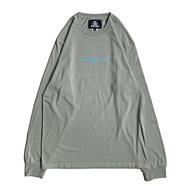 NOTHIN' SPECIAL / F/W 19 LOGO LONG SLEEVE (Stonewashed Green)
