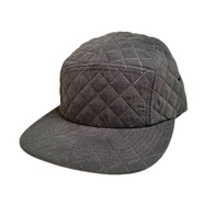 FLEX FIT / QUILTING JET CAP (BLACK)