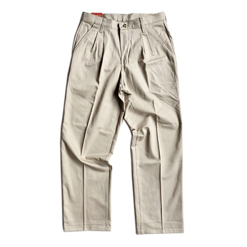RED KAP / 2 TUCK PANTS (KHAKI)