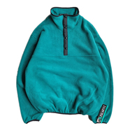 [deadstock] SPORTS MASTER / POLARTEC PULLOVER FLEECE JKT (Jade Green)