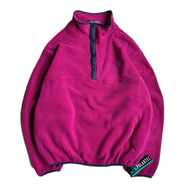 [deadstock] SPORTS MASTER / POLARTEC PULLOVER FLEECE JKT (Magenta)