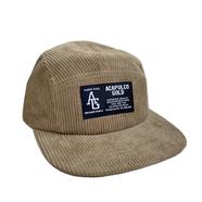 ACAPULCO GOLD / AG CORDUROY CAMP CAP (KHAKI)