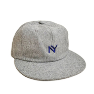 ACAPULCO GOLD / NY WOOL 6 PANEL CAP (GREY)