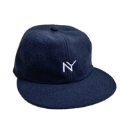 ACAPULCO GOLD / NY WOOL 6 PANEL CAP (NAVY)