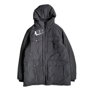 DKNY / 4POCKET BUBBLE JACKET (BLACK)