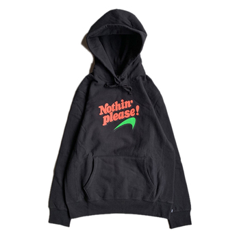 NOTHIN' SPECIAL / NOTHIN' PLEASE HOODIE (BLACK)