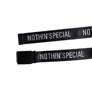 NOTHIN' SPECIAL / LOGO WEBBING BELT