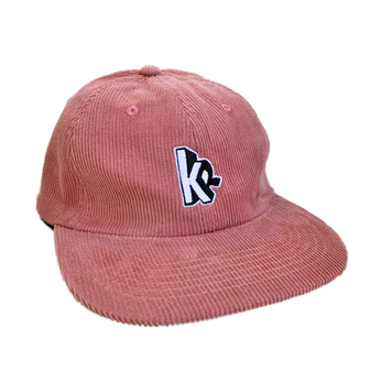 KRU NYC / KR CORDUROY 6PANEL CAP (CORAL)