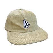 KR USA / KR CORDUROY 6PANEL CAP (BEIGE)
