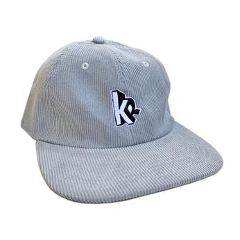 KRU NYC / KR CORDUROY 6PANEL CAP (GREY)