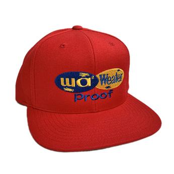 WACK WACK × ALWAYTH / WA2 WATHER PROOF CAP (RED)