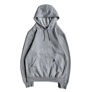 DAVE'S NEW YORK / MIDWEIGHT HOODIE (HEATHER GREY)