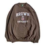 IVY SPORT / BROWN CREST SWEAT SHIRT