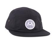 LASER BARCELONA / BARCELONETA 5 PANEL HAT (BLACK)
