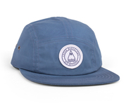 LASER BARCELONA / BARCELONETA 5 PANEL HAT (STEEL)