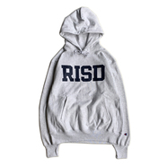RISD(Rhode Island School of Design) / LOGO HOODIE (SILVER GREY)