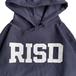 RISD(Rhode Island School of Design) / LOGO HOODIE (NAVY)