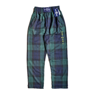 WACK WACK / Body groove check pants (GREEN)