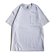 BEDLAM / WORLDWIDE OVAL POCKET TEE (GREY)
