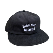 ACAPULCO GOLD / MYB 6 PANEL CAP (BLACK)