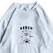 BENCH / URIBO LS TEE (WHITE)